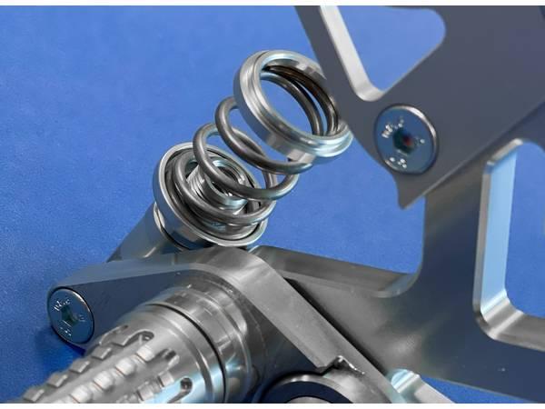 commande reculée Yamaha R6 depuis 2017 béquille latérale